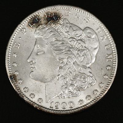 Error Coin 1900-O/CC Morgan Silver Dollar