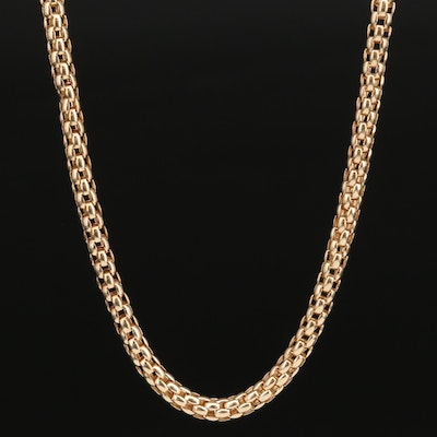 14K Mesh Necklace