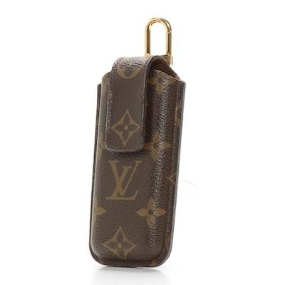 Louis Vuitton Etui Telephone International Phone Case in Monogram Canvas