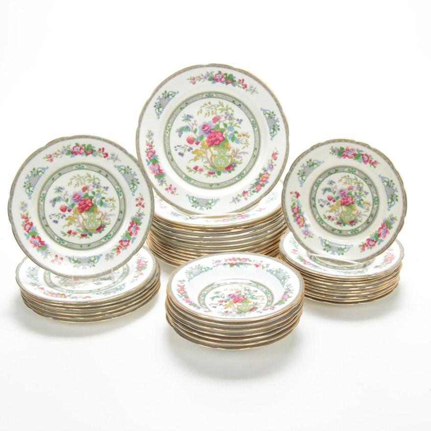 "Royal Paragon ""Tree of Kashmir"" Porcelain Dinnerware"