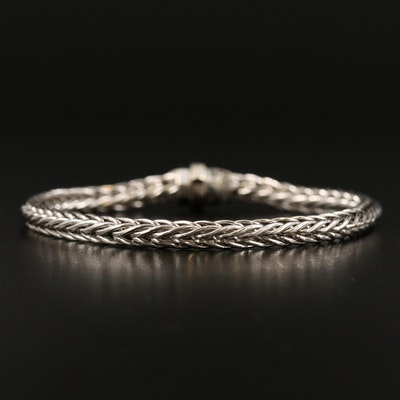 UnoAErre 18K Wheat Chain Bracelet