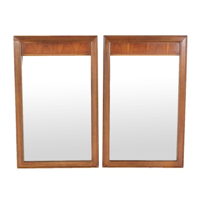 Pair of Dixie Cherry Wall Mirrors