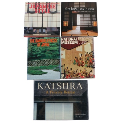 """The Japanese House: Architecture and Interiors"" by A. Black with Other Books"