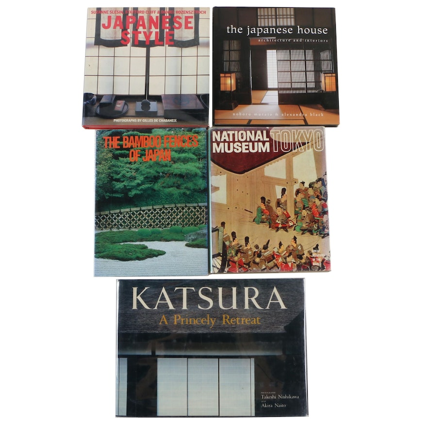 """""""The Japanese House: Architecture and Interiors"""" by A. Black with Other Books"""