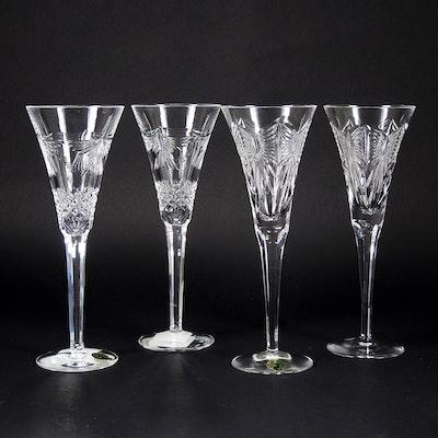 "Waterford Crystal ""The Millennium Collection"" Toasting Flute Sets, 1996–2005"