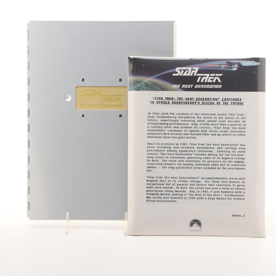 Star Trek: The Next Generation Season 6 Press Kit