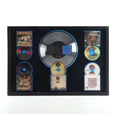 """Framed Nappy Roots Platinum Record Award for """"Watermelon, Chicken & Gritz"""""""