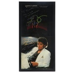 """""""Thriller"""" and """"The Dude"""" Album Display, Signed by Musician Jerry Hey"""
