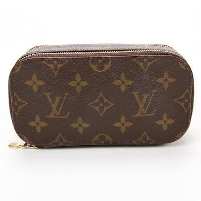 Louis Vuitton Monogram Trousse Blush PM Cosmetic Pouch