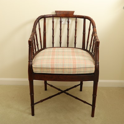 Woodwork Originals Chippendale Style Bamboo Armchair