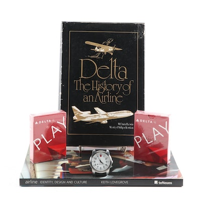 Delta and Commercial Airlines Souvenirs and Books