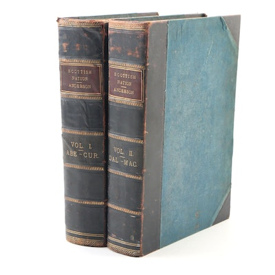 "Partial Set ""The Scottish Nation"" Volumes I–II by William Anderson, 1868"