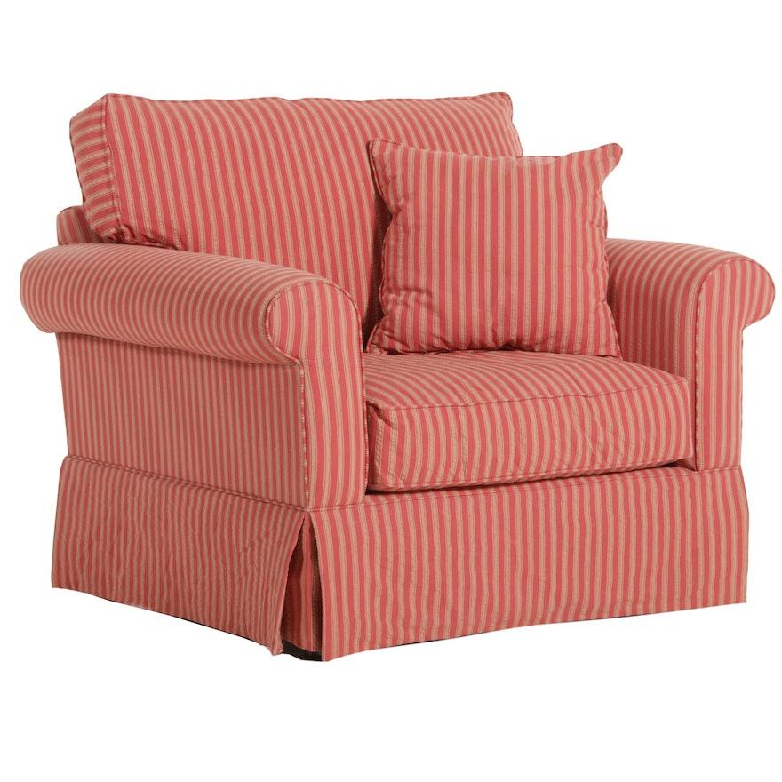 Alan White Upholstered Armchair, 21st Century