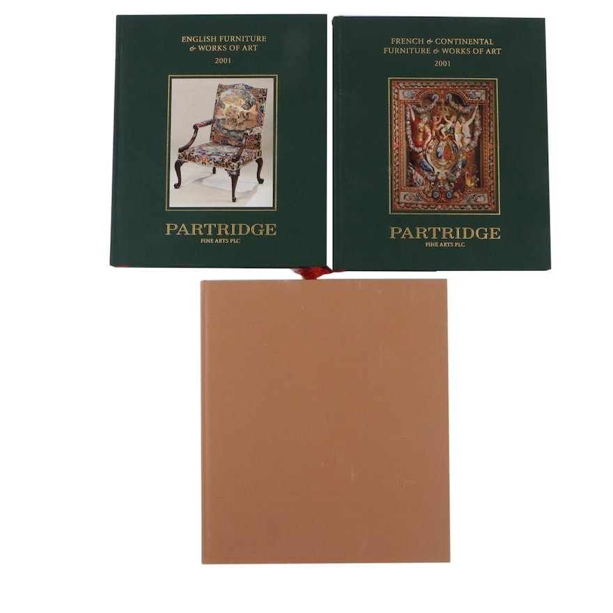 Influence on Decorative Art and Furniture Books Including First Editions