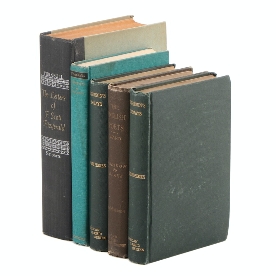 """Nonfiction Books Featuring """"The Letters of F. Scott Fitzgerald"""" and Others"""