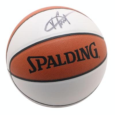 Vince Carter Autographed Spalding Basketball