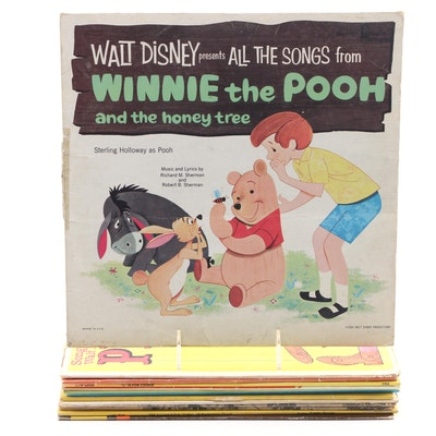 Disney, Dr. Suess, Nursery Rhymes and Other Children's Records