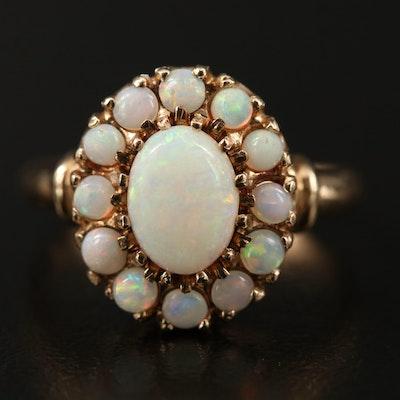 10K Opal Ring