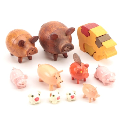 Pig Figurines and Toys