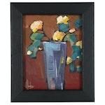 William Hawkins Still Life Oil Painting, 21st Century