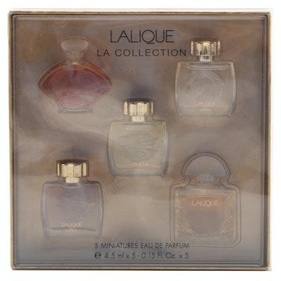 """Lalique """"L.A. Collection """"Miniature French Eau de Parfum Set"""