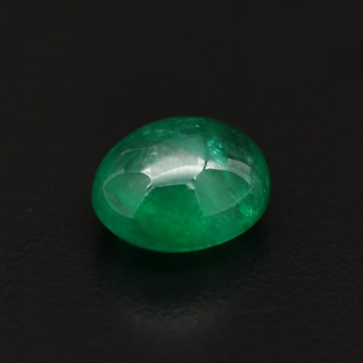 Loose 6.86 CT Emerald