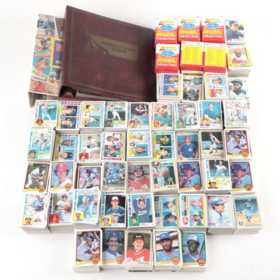1980's Baseball Cards Including Joe Morgan, Ted Simmons, Bobby Cox, and more