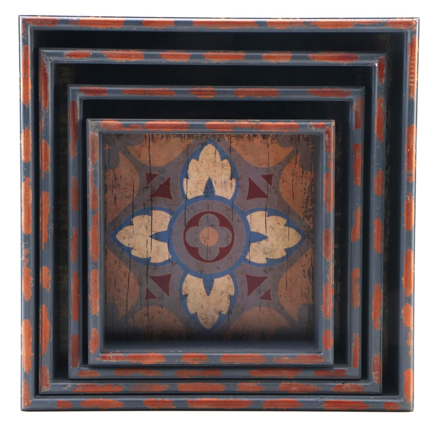 CBK Inspired Home Printed Wood Box Wall Décor