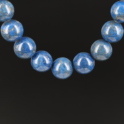Lapis Lazuli Necklace with 10K Clasp
