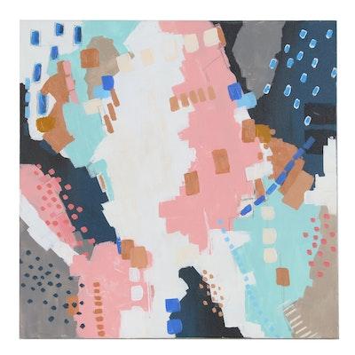 "Sanna Abstract Acrylic Painting ""Hope"", 2020"