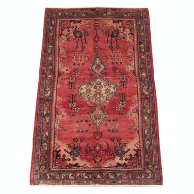 3'9 x 6'6 Hand-Knotted Persan Kolyai Wool Rug