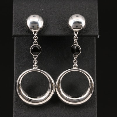 Chimento 18K Black Onyx Dangle Earrings