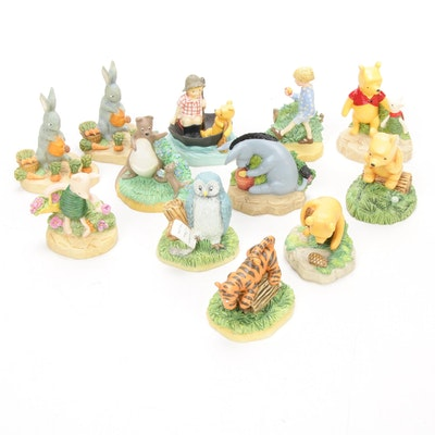 "Lenox Disney Hand-Crafted Figurines Including ""Winnie the Pooh"""