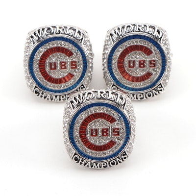 2016 Chicago Cubs Commemorative Replica World Series Rings