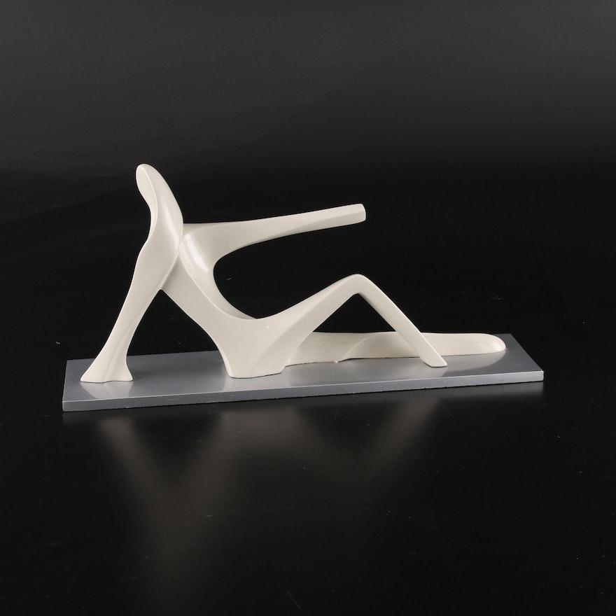 """Mauricio Sorio Resin Sculpture """"Horizons"""""""