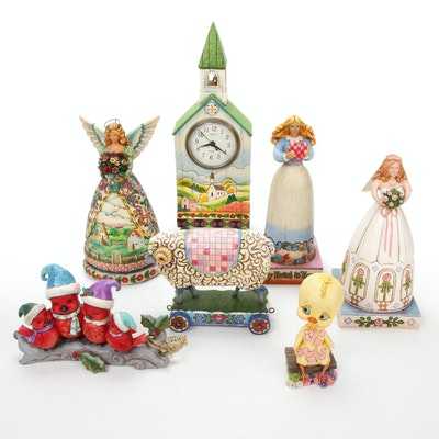 "Jim Shore ""Sing for the Season"" and Other Spring Figurines"