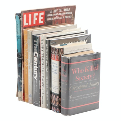 "First Editions Featuring ""Happy Times"" by L. Radziwill and More Nonfiction Books"