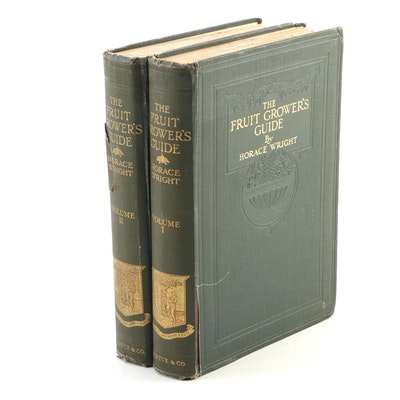 """The Fruit-Grower's Guide"" Volumes I–II by Horace Wright, 1924"