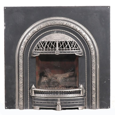 Miles Industries Inc. Victorian Style Gas Fireplace