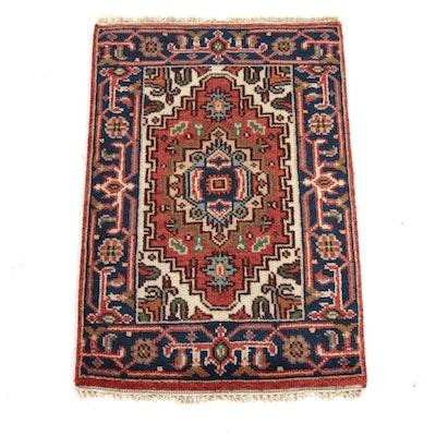 2' x 3'1 Indo-Persian Heriz Serapi Rug, 2010s