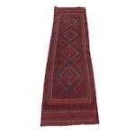 2'2 x 8'5 Handmade Afghani Turkmen Runner Rug, 2000s