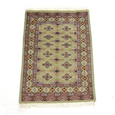 2' x 3'1 Hand-Knotted Pakistani Turkoman Rug, 2000s
