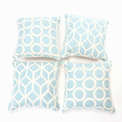 Decorative Circle and Geometric Pattern Accent Pillows