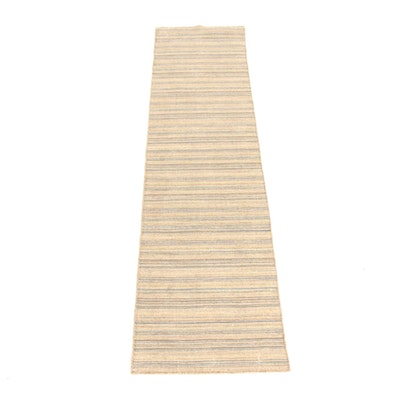 2'5 x 9'10 Handwoven Indo-Persian Gabbeh Runner Rug, 2010s