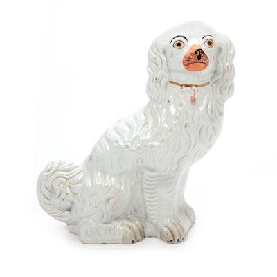 Staffordshire Style Dog Figurine