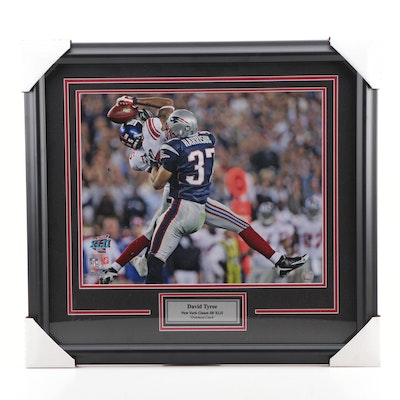 "David Tyree ""Overhead Catch"" Super Bowl XLII Photo Print, Framed"