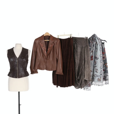 Rozae Nichols, ONZ, and Other Women's Clothing Including Leather