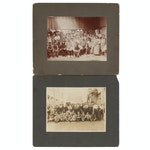Early 1900s Silver Gelatin Group Photographs