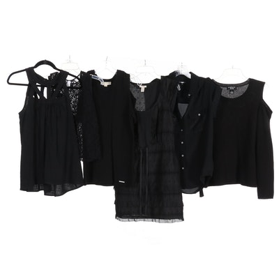 MICHAEL Michael Kors, DKNY, and Other Black Tops and Dresses
