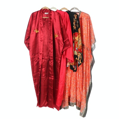 Tomoyuki, Jostens, Plants Brand and Other Kaftan, Robes and Floral Jacket